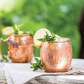 Moscato Mule Mocktail