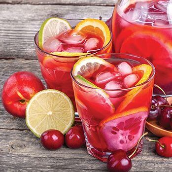 Red Sangria Mocktail