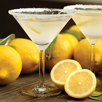 Alcohol Fre Sparkling Lemon Drop